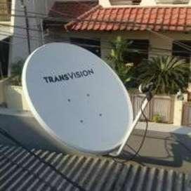 Spesial murah parabola Transvision HD area Mando resmi