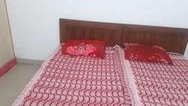 2bhk furnished  flat for rent in indirapuram gzb