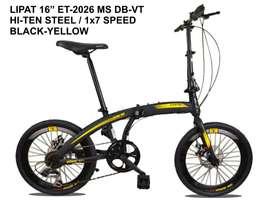 Sepeda Lipat Exotic ET-2026 MS DB-VT