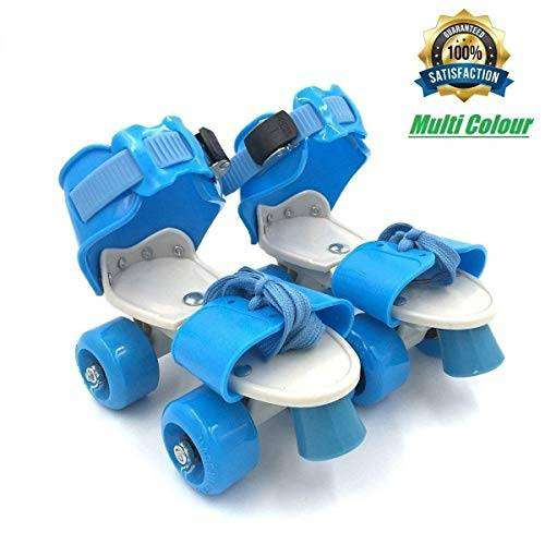 Sufi World Roller Skates Adjustable Inline Skating Shoes for Kids Age