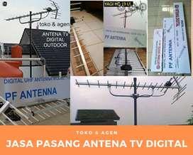 Tukang Jasa Pasang sinyal Antena Tv Digital