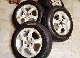Honda Alloy Rims & Tyres for Civic Reborn