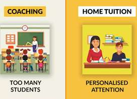 Personal home tuition CBSE class 8th to 10th