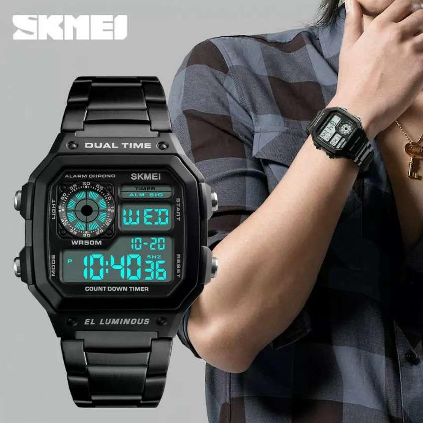 jam tangan SKMEI 1335 Original - Hitam 0