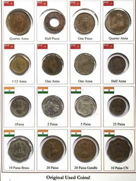 British India and old coins