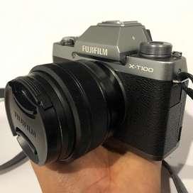 Kamera mirrorless Fujifilm XT100 (X-T100) nego