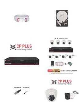 2.4MP FULL HD 4 CAMERA CCT.V KIT