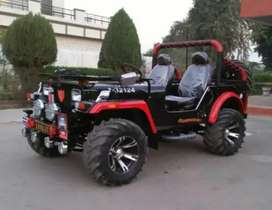 New modified jeeps Good conditions