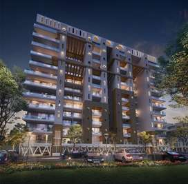 Two Side Open & Park facing 3 BHK Spacious Floor with Store, Lift,Cafe