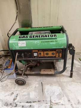5.5 KV Green power generator in a very good condition