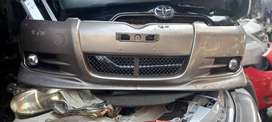 Vitz 2002 RS edition Front and Rear bumper set