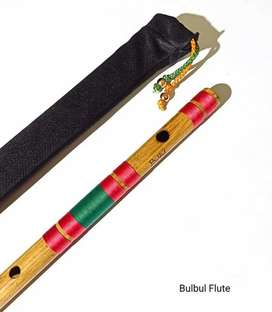 All scale Natural Medium Side Blown Bamboo Flute