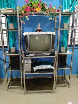Seetel stand TV 6 ft hat 5 ft c