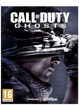 CALL OF DUTY GHOST PC GAME CD