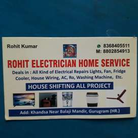 ROHIT ELECTRICIAN HOME SERVICES CENTRE