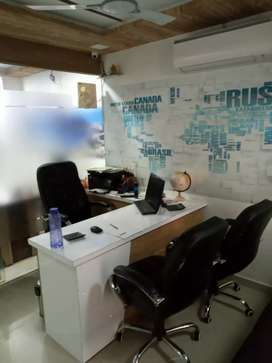 Fully furnished new office with 2 cabin
