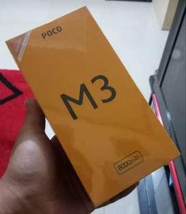 Poco M3 4/64Gb Segel Box Ciwidey