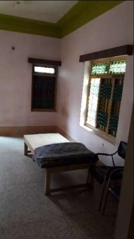 single room with attached bathroom
