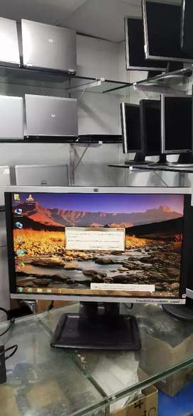 """22"""" HP LCD For computer Rs 3600/-"""