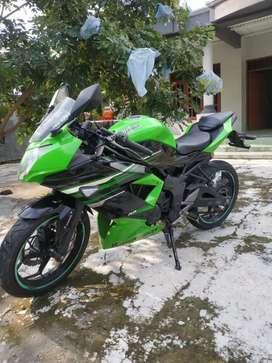 Kawasaki Ninja 250 ABS RR MONO 2014 Mantap tinggal pakai saja