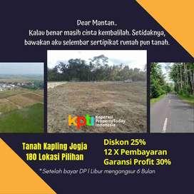 Info Tanah Cicilan 12X, Terbukti Murah Tamantirto