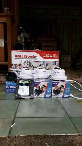 Pasang Camera Cctv 2Mp full HD Jernih~Keamanan Rumah+kantor+pabrik