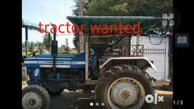 Tractor wanted