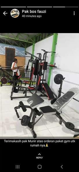 Alat gym fitness new