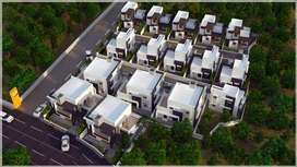 3BHK Villas Crafted with Best in Quality