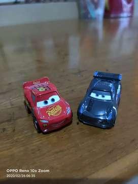 Diecast Mini Racer Cars 3 Mattel (Langka)
