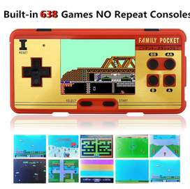 3.0 inch Screen Family Pocket Retro Video Game Console Handheld Game C