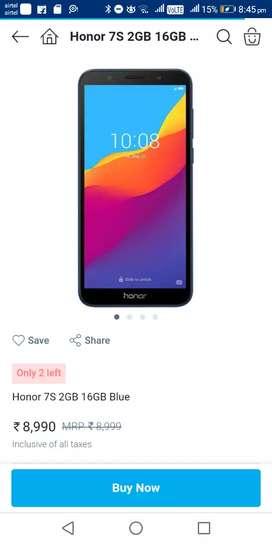 Honor 7s best phone