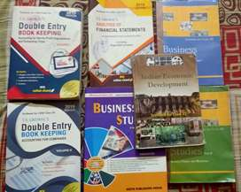 Class 12 commerce books, accountancy all 3 parts eco business