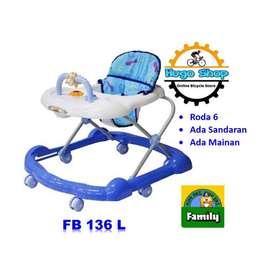 Alat Belajar Jalan Bayi - Baby Walker F 136 L