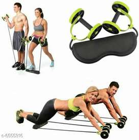 Stretch Roller Wheel with Body Pro Roller Ab Exerciser