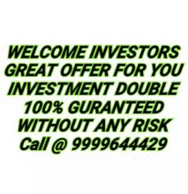 INVESTORS WELCOME GREAT DEAL FOR YOU