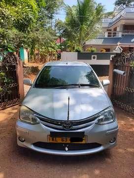 Etios sedan taxi permit urgent sale