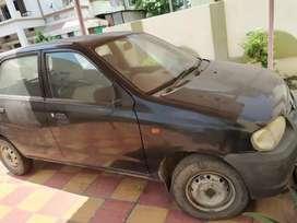 It's maruti Suzuki 'Alto' 2004 model black colour .
