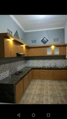 Meja Dapur Kitchen Set Bonus Rak Piring