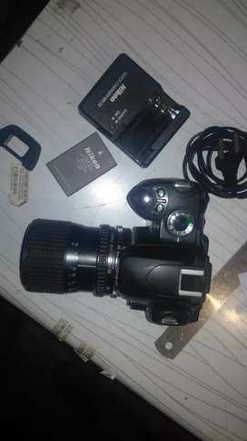 Nikon DSLR camera modal D60 total set for sell