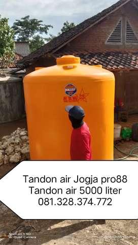Tandon Air 5000 liter toren Kebumen bahan plastik hdpe tebal