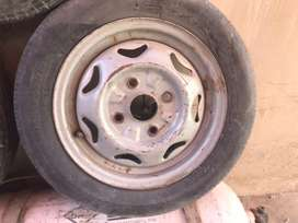 Cultus stphni with tuble tyre availabel .