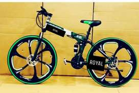 B M. 21 GEAR FOLDING CYCLE. NEW CYCLE AVAILABLE