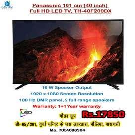 New Panasonic 40 inch LED TV full HD 1+1 year warranty no bargen