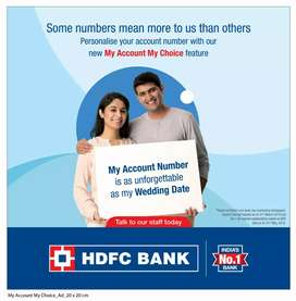 HDFC BANK ACCOUNT OPENING