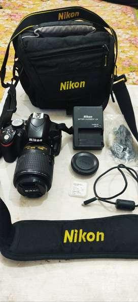 NIKON D3200 DSLR CAMERA WITH  AF-S NIKKOR 55-200mm 1:4-5.6II ED Lens