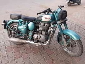 Royal Enfield classic 500 Green Color 80,000 fix Price