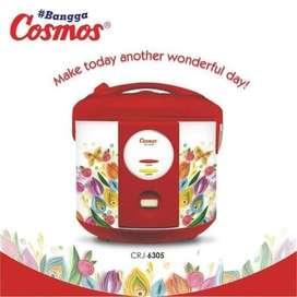 Cosmos Magic Com 3in1 Harmond 1.8Liter CRJ6305 Rice Cooker Anti Gores
