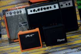 Ampli Gitar Slim full distorsi 6.5inch5000