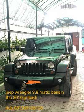 Jeep Wrangler Sport limited edition 3.8 automatic bensin 2010